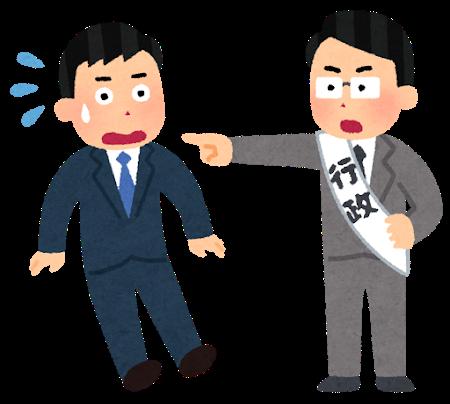行政指導の画像