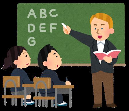 英語の授業の画像