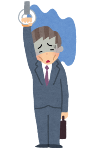 ストレスがたまっている人の画像